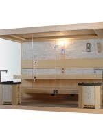 Nowoczesna sauna model M003