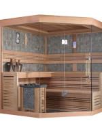 Sauna narożna model M005