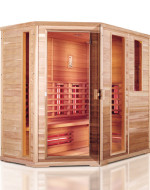 Sauna infrared model H010 210x140x200cm