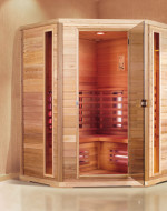Sauna infrared model H011 150x150x200cm