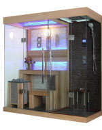 Luxury sauna model M0015