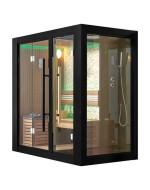 Sauna z kabina prysznicową model 34