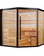 Sauna narożna model 33